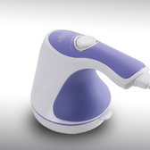 【洛克馬創意生活館】Relax & Tone 紫色精靈美體按摩機  多功能推脂按摩機 一機當多機使用
