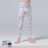 【WIWI】聖誕米奇溫灸刷毛九分發熱褲(星砂灰 童100-150)
