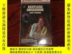 二手書博民逛書店RESTLESS罕見OBSESSION 【英文原版】Y6949