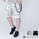 【OBIYUAN】工作短褲 韓國製 吊飾 迷彩 多口袋 休閒褲 共2色【BHB093】