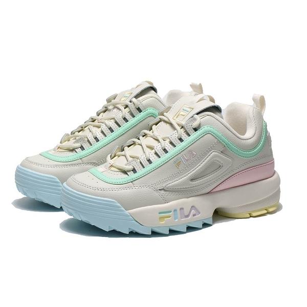 FILA 休閒鞋 DISRUPTOR 2 鋸齒鞋 繽紛糖果 老爹鞋 女 (布魯克林) 4C113V792