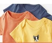 嬰兒衣服寶寶短袖連身衣女
