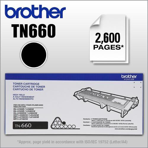 【多支有優惠】Brother TN-660(TN-2380)原廠高容量碳粉匣~適用機型:MFC-L2700D.MFC-L2700DW