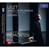 【停看聽音響唱片】【CD】李斯特:巡禮之年第二年(義大利) 弗朗西斯柯.皮耶蒙特吉 鋼琴