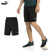 Puma ACE 男 黑色 9吋 基本系列 運動 休閒 慢跑褲 籃球褲 短褲 透氣 排汗 51732301