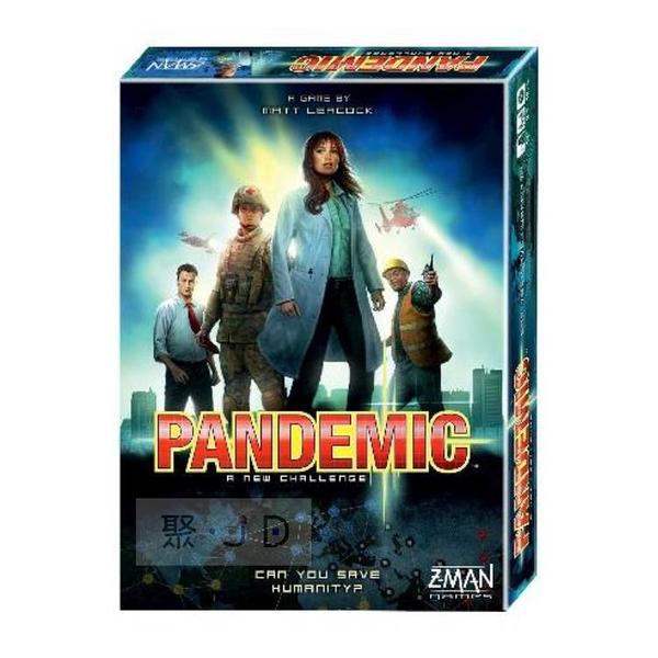 特價【Gokids 桌遊】玩家遊戲 - 058274 瘟疫危機 (中文版 ) Pandemic