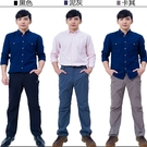 新品-男薄款耐磨多口袋防潑水彈性防曬長褲(HPM013 五色可選)【戶外趣】