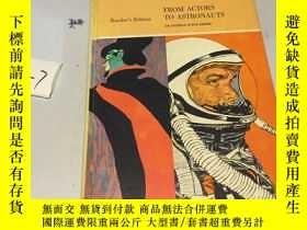 二手書博民逛書店英文原版:From罕見Actors To Astronauts