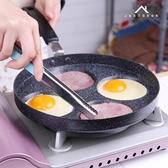 迷你不粘鍋平底鍋漢堡煎蛋鍋早餐鍋蛋餃鍋模具平底煎鍋燃氣灶專用