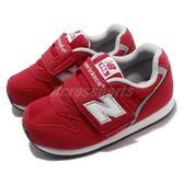 New Balance 慢跑鞋 996 NB 紅 白 魔鬼氈 休閒鞋 童鞋 小童鞋【PUMP306】 IV996CRDW