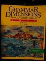 二手書博民逛書店《Grammar Dimensions Bk4 E1 (Gram