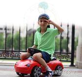 兒童滑行車四輪溜溜扭扭車音樂1-3-5歲嬰兒學步助步可坐人玩具車     時尚教主