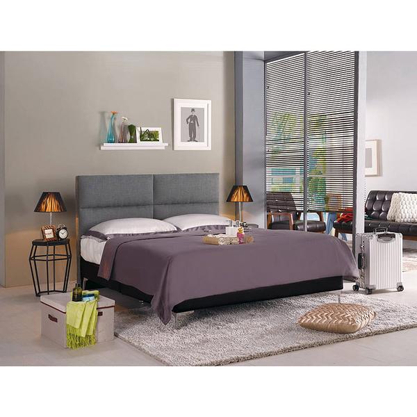 床架 床底 安蒂5尺雙人床(灰色布)(18CM/159-6)【DD House】