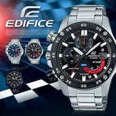 【人文行旅】EDIFICE   EFR-558DB-1AVUDF 高科技智慧工藝結晶賽車錶 CASIO