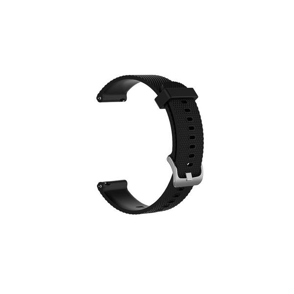 【大格紋錶帶】Garmin vivoactive3/vivomove HR Luxe 智能手錶 20mm矽膠運動腕帶