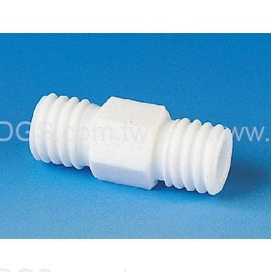 《BOHLENDER》直型螺 牙接管 PTFE GL-Tube Fitting, Straight, PTFE