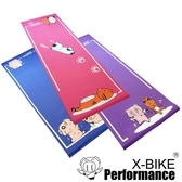 【X-BIKE 晨昌】台灣精品 環保無毒-卡通造型瑜珈墊/地墊/防震墊-紫