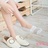 5雙|船襪女蕾絲隱形襪短襪淺口襪子硅膠防滑薄款【匯美優品】