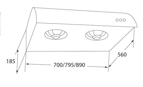 [家事達] 豪山牌排油煙機V-937 AS  經濟型排油煙機(90cm)--不鏽鋼 特價