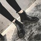 單靴騎士靴英倫馬丁靴女...