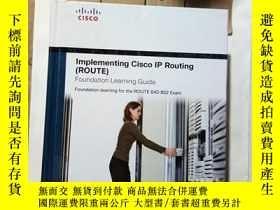 二手書博民逛書店罕見;Implementing Cisco IP Routing