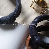 ✦ 正韓 ✦ early Morning - 手工 英倫格紋 繡花 寬版髮箍 髮帶 韓國帶回【MEM010】