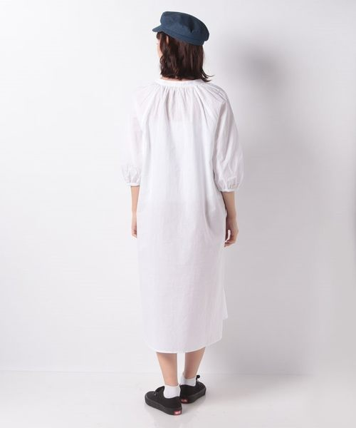 ❖ Spring ❖ 素面/格紋V領開襟連身洋裝 - E hyphen world gallery