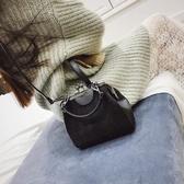 夾口包女新款韓版網紅洋氣百搭貝殼包法國小眾小包斜背帆布包 伊莎公主