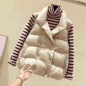 新款冬季學生馬夾韓版羽絨馬甲女短款羽絨棉背心外穿上 『優尚良品』
