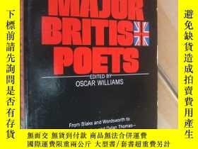 二手書博民逛書店The罕見Mentor Book Of Major British PoetsY85718 Oscar Wil