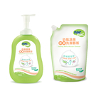 nac nac 酵素奶瓶蔬果清潔慕斯 (700ml罐+600ml包)