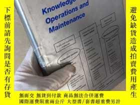 二手書博民逛書店Knowledge罕見Based Operations and Maintenance基於知識的操作和維護Y3