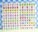 【震撼精品百貨】Hello Kitty 凱蒂貓~KITTY貼紙-心情貼紙-彩色(粉飛機)