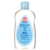 嬌生嬰兒潤膚油-清爽配方300ml【愛買】