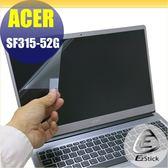 【Ezstick】ACER Swift 3 SF315 SF315-52G 靜電式筆電LCD液晶螢幕貼 (可選鏡面或霧面