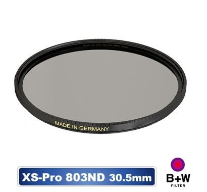 B+W XS-PRO 803 ND 0.9 ND8 MRC nano 30.5 ~49mm 高硬度奈米鍍膜 減3格【公司貨】BWF