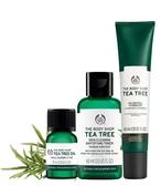 雙11特惠組【THE BODY SHOP】天然茶樹淨膚保濕組