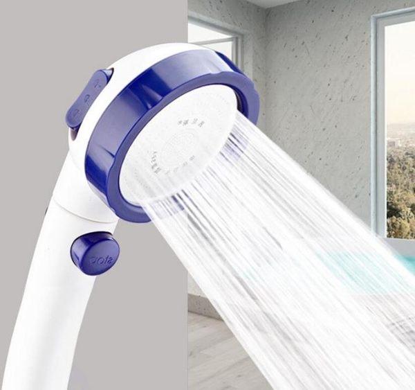 花灑 日本增壓花灑帶開關三檔可拆洗噴頭加軟管淋雨套裝淋浴花沙家用 第六空間