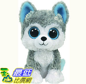 [103美國直購] Ty 毛絨玩具 TY Beanie Boos - Slush - Husky $491