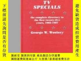 二手書博民逛書店Animated罕見Tv SpecialsY255562 George W. Woolery Scarecro