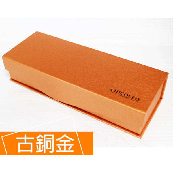 CHICOLEO奇格利爾 鍍24K黃金梳禮盒 (古銅金)