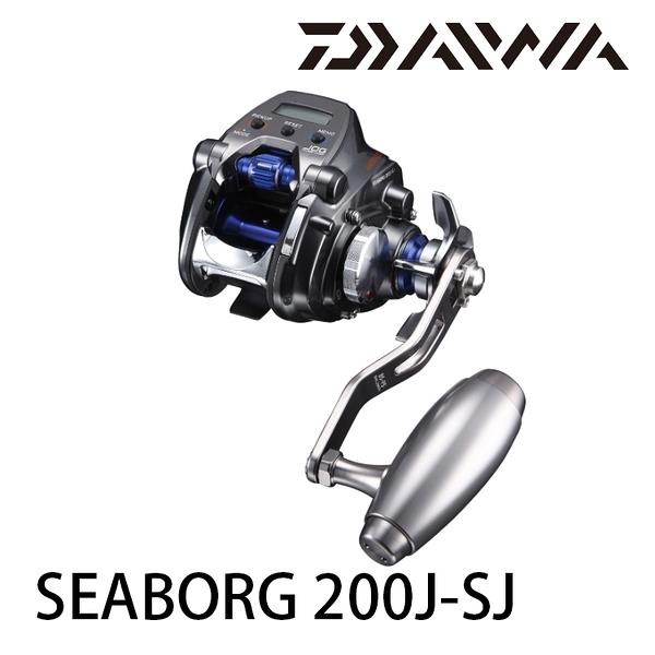[送1000元折價券] 漁拓釣具 DAIWA SEABORG 200J/JL-SJ [電動捲線器]