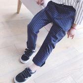 2休閒長褲條紋褲子