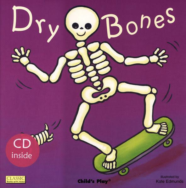『鬆聽出英語力/廖彩杏書單--第10週』- DRY BONES / 書+CD (JY版)