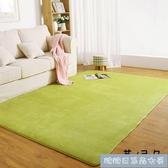 客廳地毯加厚珊瑚絨臥室地毯客廳茶幾床邊毯滿鋪榻榻米 簡約家用地墊子YYP ~ 出貨~