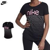Nike Sportswear 大童裝 黑 粉 運動上衣 短袖 棉T 柔軟 舒適 純棉 貼合 923640010
