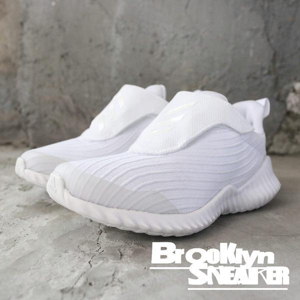free shipping 55017 e14e5 Adidas Fortarun AC K 米白魔鬼氈中童(布魯克林) 2018