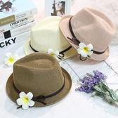 夏季草帽女防曬沙灘帽子韓版潮可折疊海邊度假帽遮陽大檐出游帽