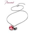 法國Baccarat 粉色水晶項鍊