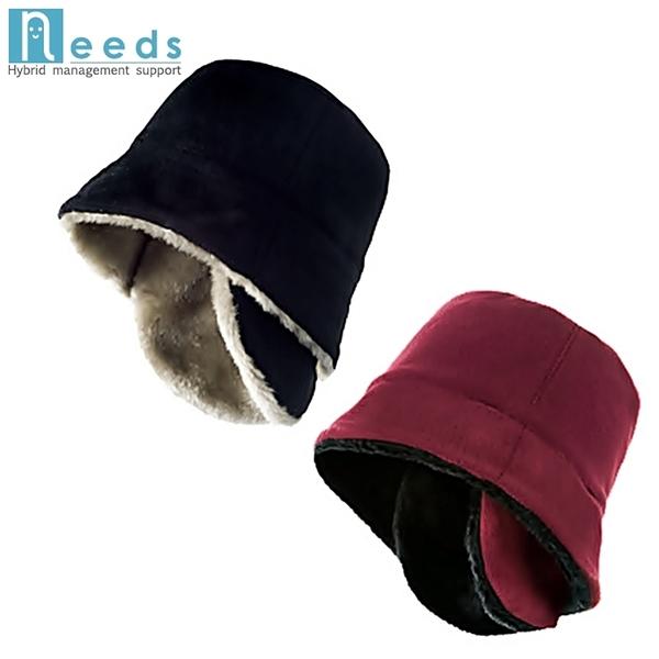 耀您館★日本NEEDS兩種戴法護耳帽防寒保暖帽674126/674560耳ネザやゲギろпヤ平頂圓頂帽漁夫帽